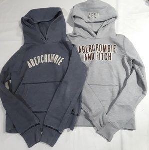 2 Abercrombie Pullover Hoodies